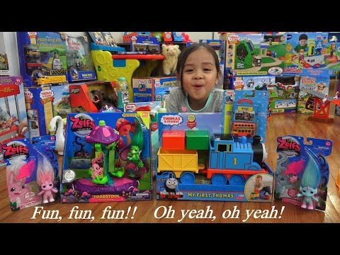 My First Thomas & Friends Take N Play Bulgy and The ZELFS Unboxing Toys Playtime