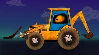 Backhoe Loader Formation And Uses Video For Kids And Toddlers Cartoon For Kids About Cars