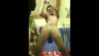 Trumpets dance challenge-macho dancer