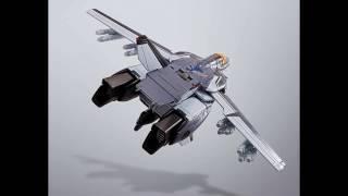 HI-METAL R 超時空要塞マクロス VF-1S バルキリー(マクロス35周年記念メッサーカラーVer.) 約140mm ABS&ダイキャスト製 塗装済み可動フィギュア