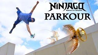 Ninjago Parkour Challenge - LEGO Dragon Master Battle