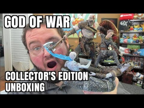 GOD OF WAR COLLECTOR S EDITION UNBOXING STONE MASON EDITION FOR PS4