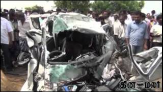 Six Dead in Accident near Kovai - Dinamalar May 23rd 2015 Tamil Video News