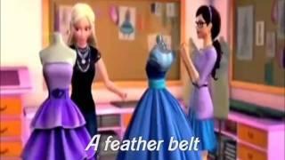(HD) Life Is A Fairytale (Lyrics) - Barbie™: A Fashion Fairytale