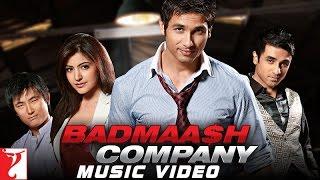 Badmaash Company Title Song | Shahid Kapoor | Anushka Sharma | Benny Dayal