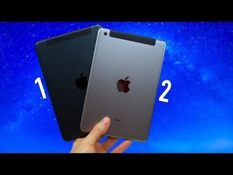 iPad mini vs iPad mini with Retina Display! (iPad mini 1 vs iPad mini 2)
