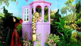 Barbie Rapunzel Bedroom Morning Routine - Cruise Ship with Elsa & Anna