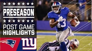 Patriots vs. Giants | Game Highlights | NFL