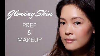 How to Get Natural Glowing Skin & Model MakeUp | belif x Prabal Gurung NYFW17