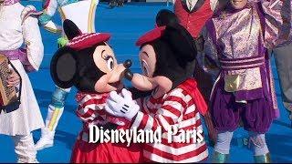 it's a small world 50th anniversary sing-along at Disneyland Paris, Tokyo, Hong Kong