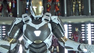 Hot Toys Starboost unbox review visual tour Iron Man 3 Mark 39 MMS214
