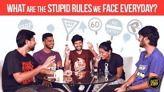What are the stupid rules we face everyday | Fully Filmy Mindvoice