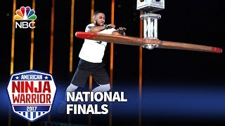 JJ Woods at the Las Vegas National Finals: Stage 1 - American Ninja Warrior 2017