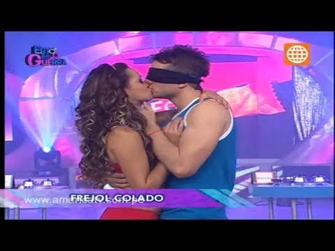 Esto es Guerra El beso más largo de Angie y Nicola 01 10 2012