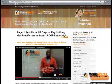 SEO OFFER - Page 1 Results in 90 Days Get Started Today!