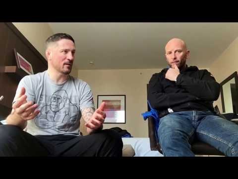 John Kavanagh Connor McGregor s coach talking about being bullied Ricky Manetta MMA Krav Maga