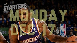 NBA Daily Show: Dec. 17 - The Starters