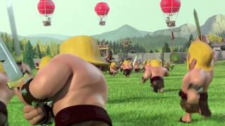 Clash Of Clans - Official Clan War Ad! HD