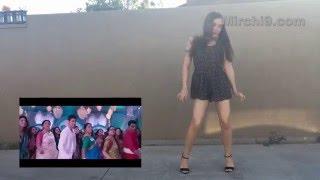 US girl dancing for Brahmotsavam songs - www.Mirchi9.com