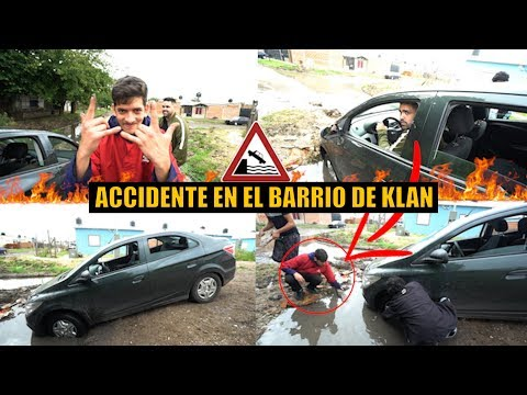 KLAN me enseña LOS SECRETOS DE SU BARRIO TENEMOS UN ACCIDENTE