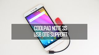 Coolpad Note 3S USB OTG and Benchmarks