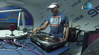 Saber Boukchina à l'Ancienne Radio Cap Fm