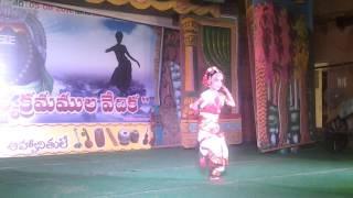 Narthana Ganapathi Classical dance by Neha Jadhav in Kanipakam