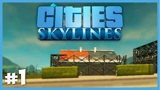 Modern Bir Şehir  - Cities Skylines - Bölüm 1