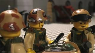 Lego Black Hawk Down Part 1 (Remake)