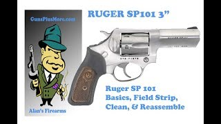 Ruger SP101 357 Mag, Review, Clean & Lube