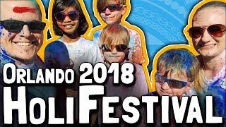 The Orlando 2018 Holi Festival (March 4, 2018)