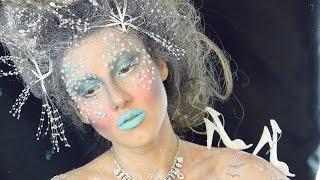 Buz Kraliçesi Cadılar Bayramı Makyajı | Gökçe Yıldırım