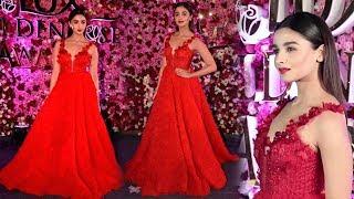 Alia Bhatt At Lux Golden Rose Awards 2017