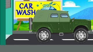 Jeep | Car Wash & Uses | Video For Kids