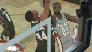 NBA Today 3/19 Milwaukee Bucks vs Cleveland Cavaliers Full Game NBA Highlights NBA 2K18 - March 19