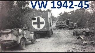 VW KDF - Kübel - Schwimmwagen  166 - Originalfilme mit Kommentar