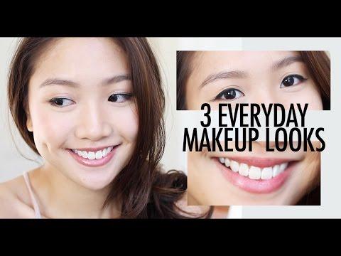 🎃3個簡易日常妝 3 Simple Everyday Makeups  | Pumpkin Jenn🎃