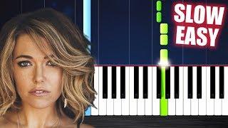 Rachel Platten - Fight Song - SLOW EASY Piano Tutorial by PlutaX