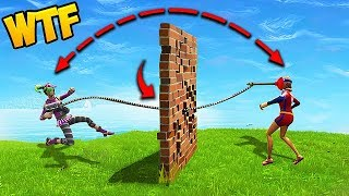 *NEW* HOW TO GRAPPLE THROUGH WALLS! - Fortnite Funny Fails and WTF Moments! #321