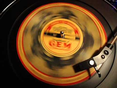 78 RPM GEM Razor Voice-O-Graph Home Recorded Disc from WWII Army