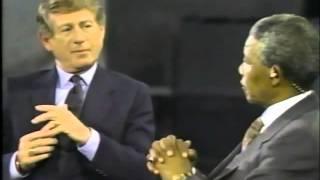 Mandela paralyzes Koppel 1990