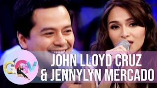 GGV: Jennylyn sings John Lloyd's favorite song