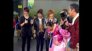 Fame - Mr. Simple [NO FULL] & Cuplikan MV Korea @ Semangat Pagi TransTv [280512]