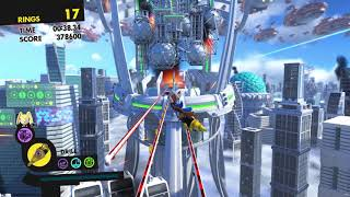 Sonic Forces (PS4): Stage 24 - Null Space (Metropolis) - Speed Run (00:50.91)