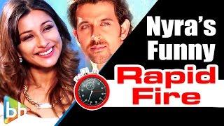 Nyra Banerjee's RAPID FIRE On Sunny Leone   'One Night Stand'   Hrithik   Deepika