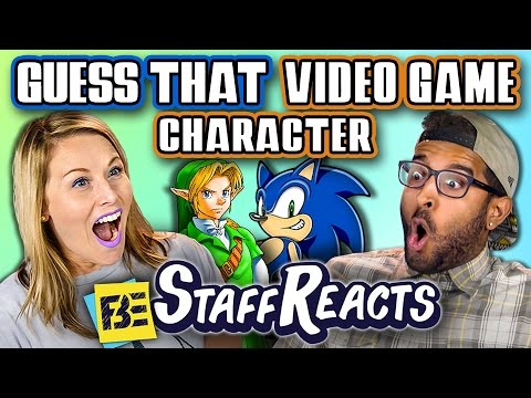 GUESS THAT VIDEO GAME CHARACTER CHALLENGE ft. FBE STAFF
