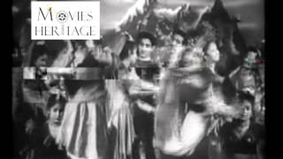 Chhama Chhama Chhama Nache Jiya Re - Dupatta (1952) - Old Bollywood Classic Songs