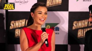 Amy Jackson Full Interview | Singh Is Bling Trailer Launch