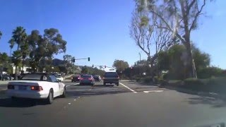 Driving Pacific Coast Highway (PCH) - Laguna Beach to Aliso Beach Park
