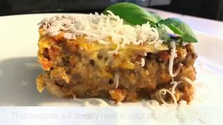 Lasagna with Skinny Bechamel